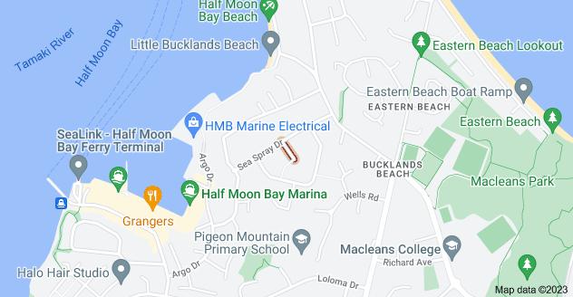 Location of Pedersen Place