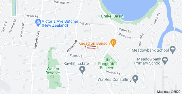 Location of Homai Street
