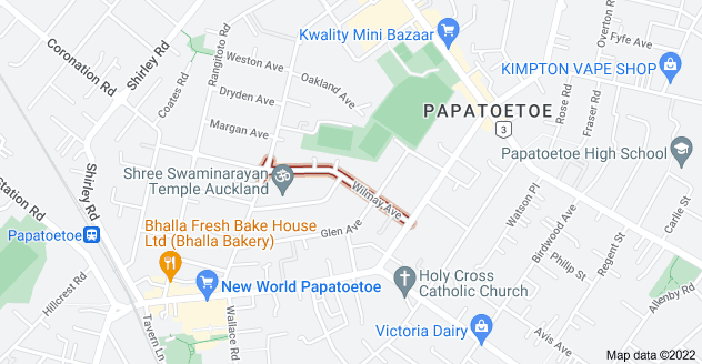 Location of Wilmay Avenue