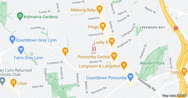 Location of Mira Street