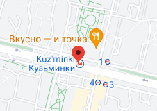 Location of Kuzminki