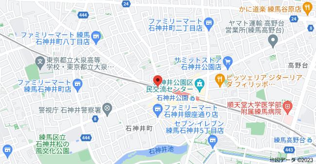 〒177-0041 東京都練馬区石神井町7丁目1−2の地図