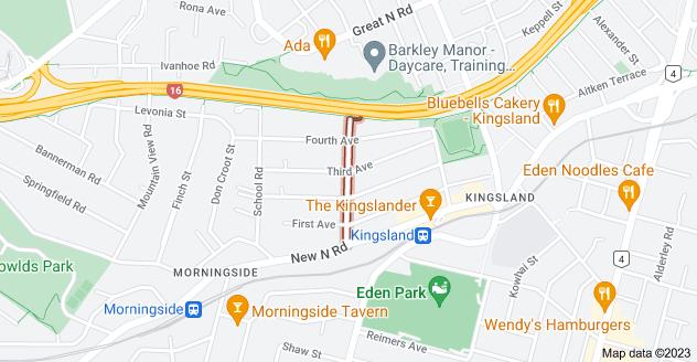 Location of Kingsland Avenue