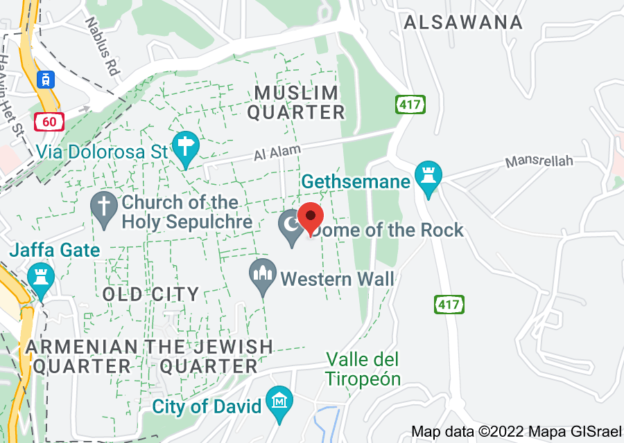 Location of Temple Mount