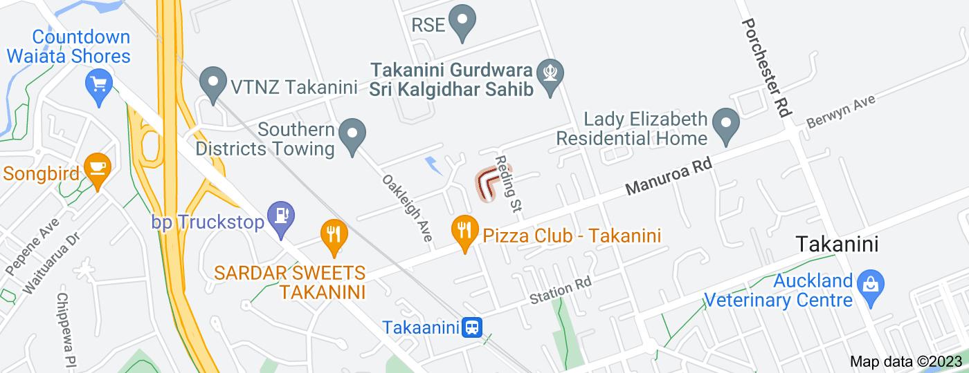 Location of Hansen Place