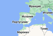 Location of Испания