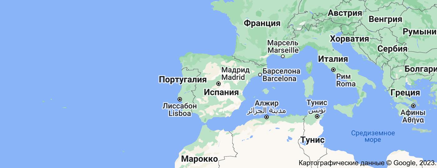 Location of Испания