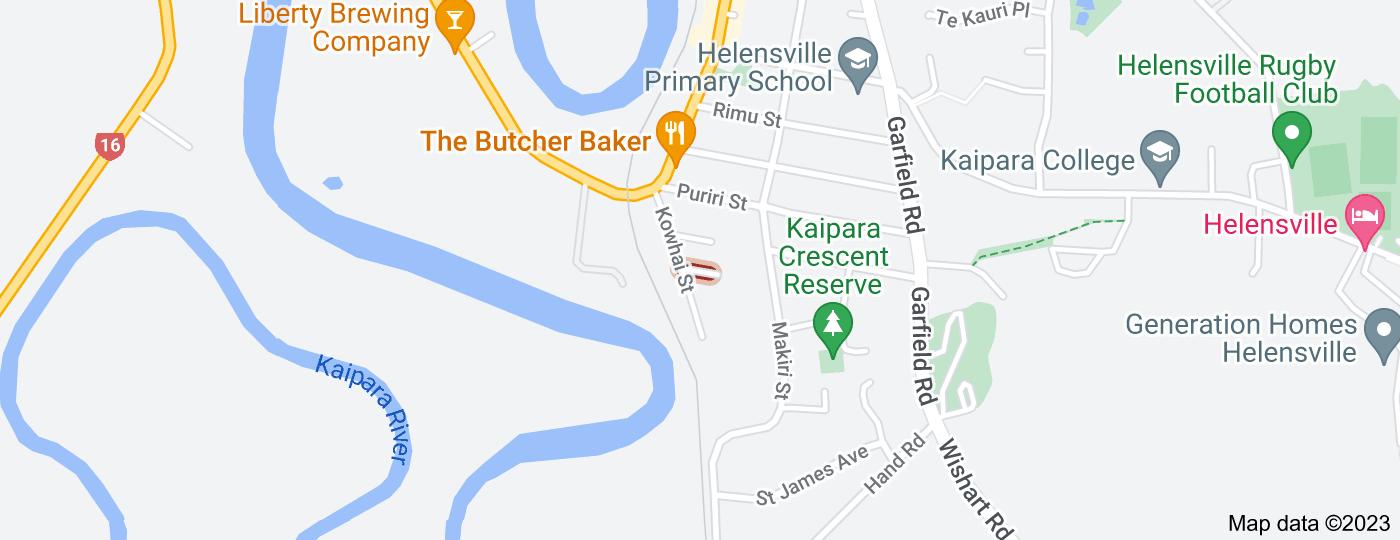 Location of McLeod Street