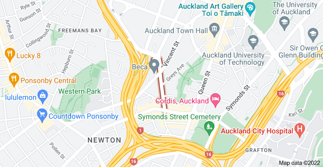 Location of Pitt Street