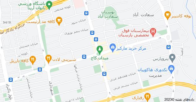 اجاره آپارتمان مبله در میدان کاج سعادت آباد تهران