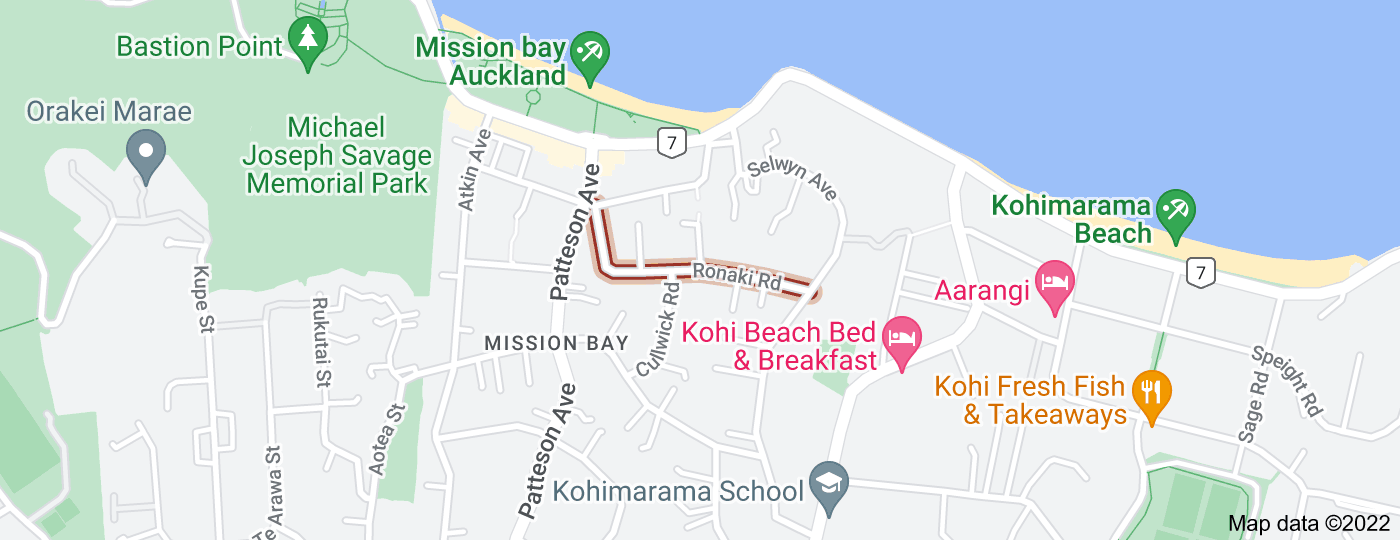 Location of Ronaki Road