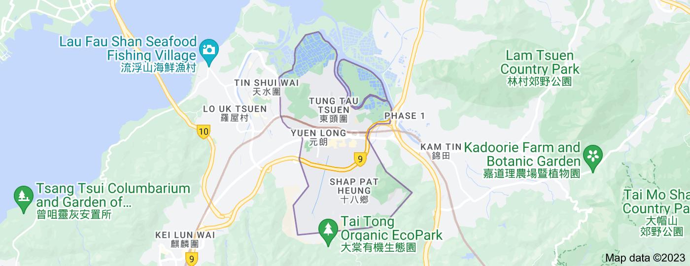 Location of Yuen Long