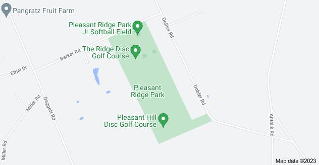 Map of Pleasant Ridge Park, Girard, PA 16417