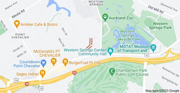 Location of Pasadena Avenue