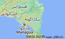 Location of نیکاراگوئه