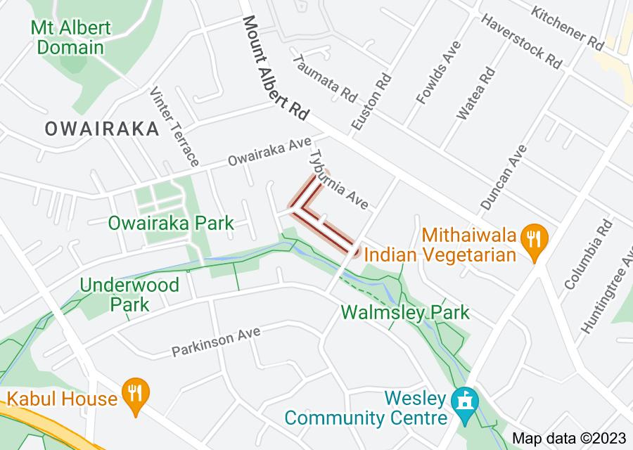 Location of Triton Avenue