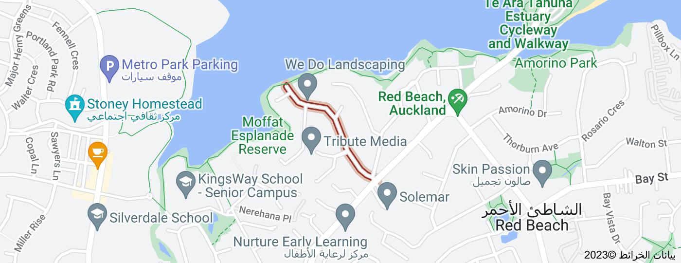 Location of Moffat Road