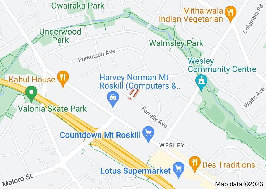 Location of Christini Street