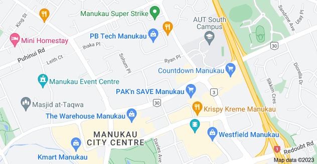 Location of Freeman Way