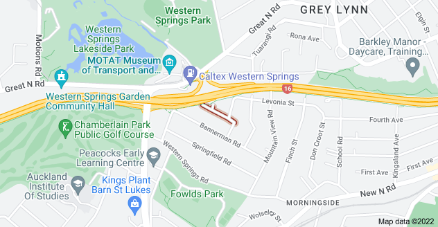 Location of Cardigan Street