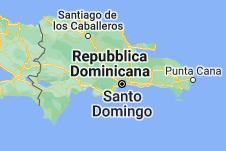 Location of Repubblica Dominicana