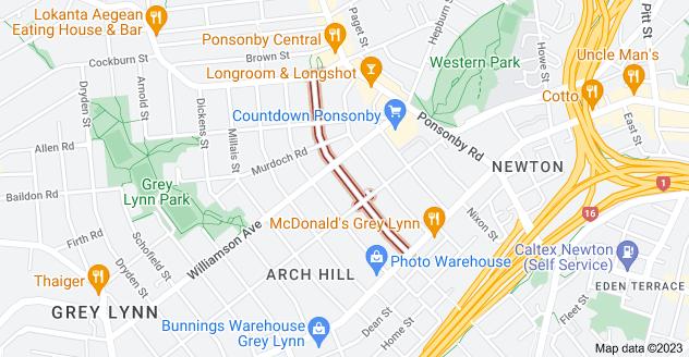 Location of Scanlan Street