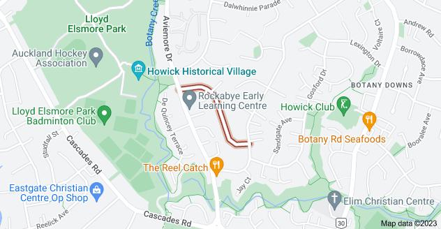 Location of Lewisham Street