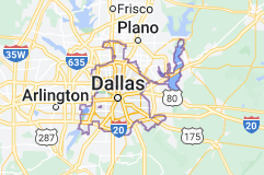 Map of Dallas
