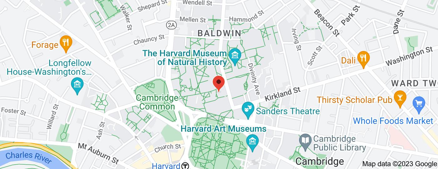 Location of Harvard University