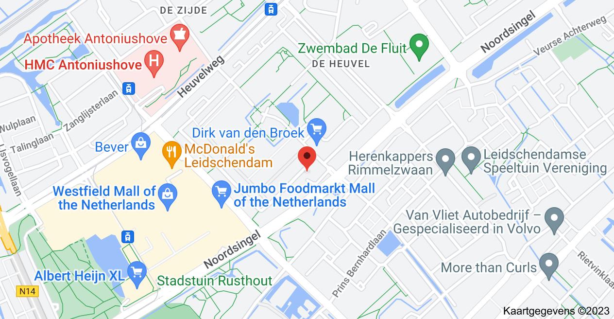 Kaart van Burgemeester Keijzerlaan 19, 2262 BB Leidschendam