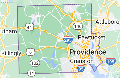 Map of Providence County
