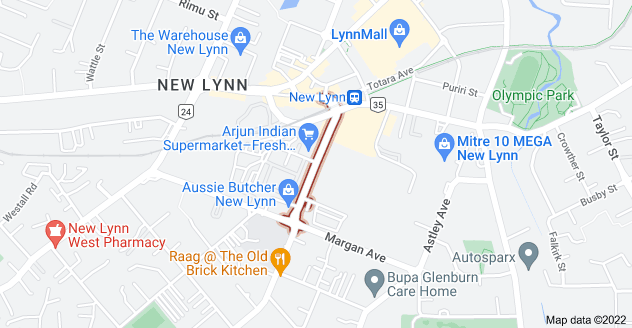 Location of Rankin Avenue
