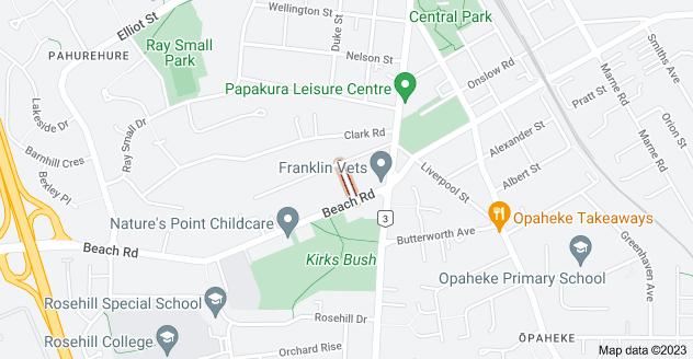 Location of Argyle Avenue