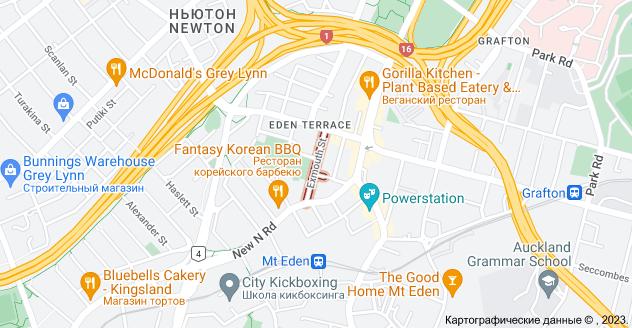 Location of Эксмут-стрит