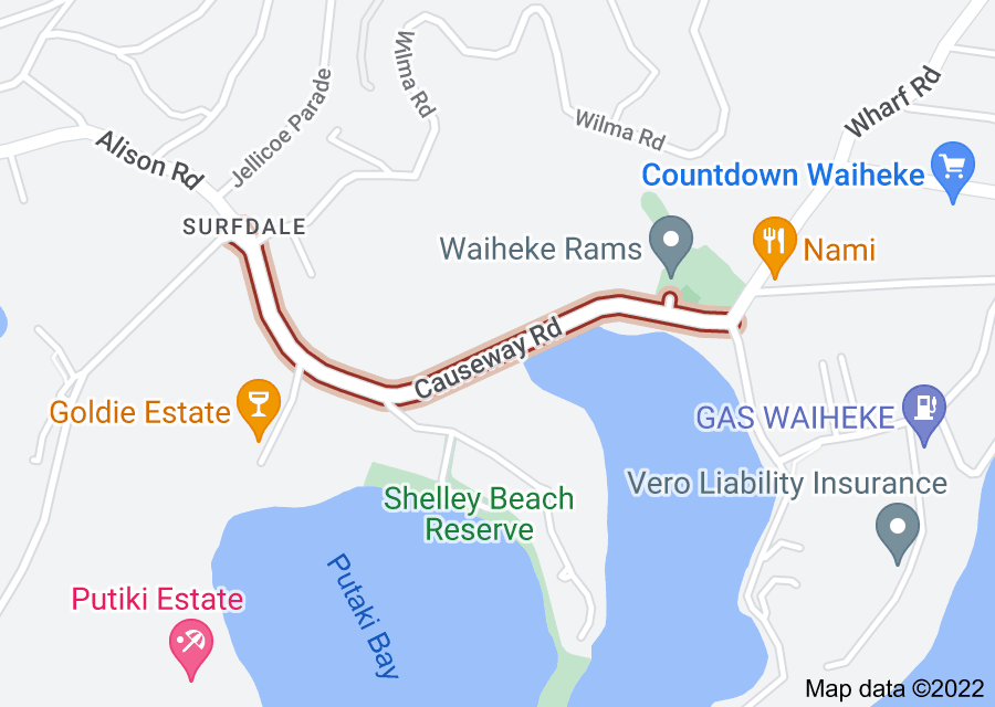 Location of Causeway Road