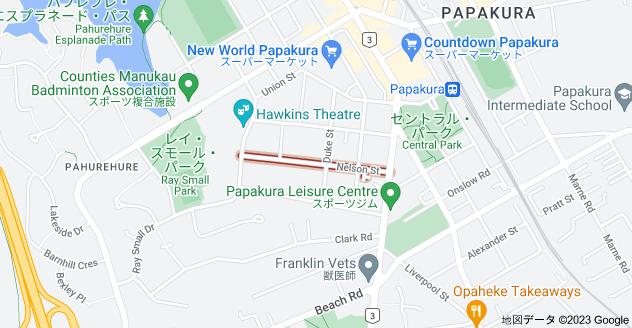 Location of ネルソン・ストリート