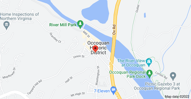 Map of 206 Commerce St, Occoquan, VA 22125