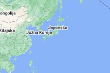 Location of Japonska