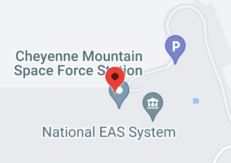 Map of Cheyenne Mountain Air Force Station