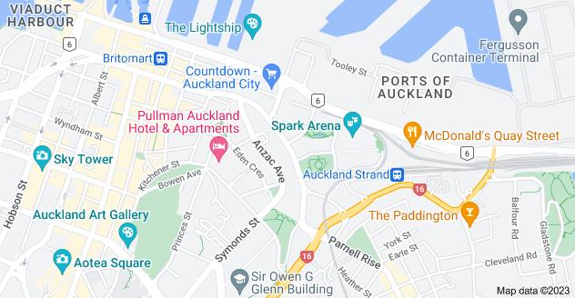 Location of Beach Road