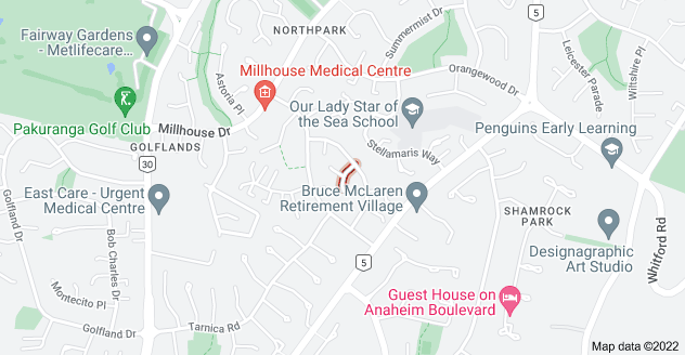 Location of Eiger Place