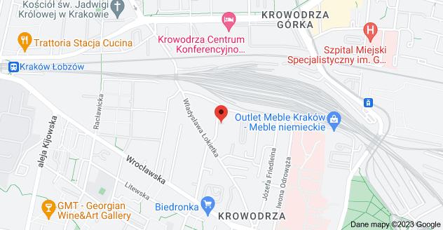 Mapa: Oboźna 31, 30-001 Kraków