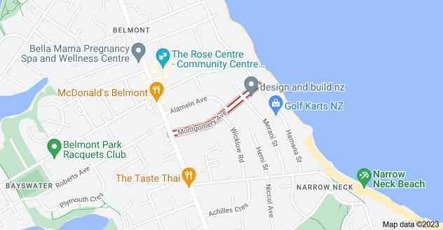 Location of Montgomery Avenue