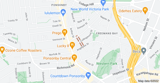 Location of Heke Street