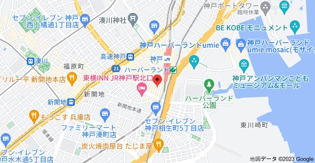 ラーメン・つけ麺 神起の地図