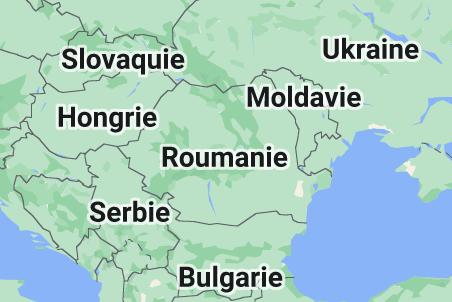 Roumanie: carte