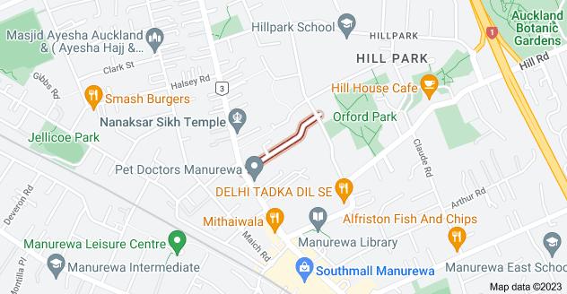 Location of Kelvyn Grove