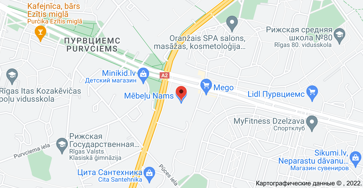 Dzelzavas iela 72, Vidzemes priekšpilsēta, Rīga, LV-1082: карта