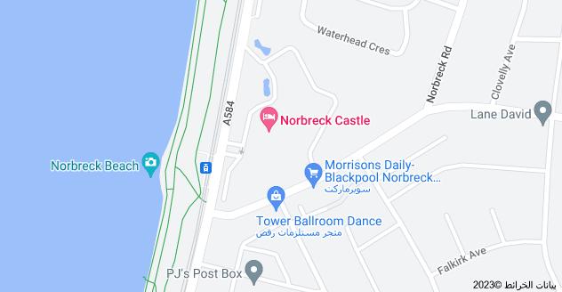 Location of Norbreck