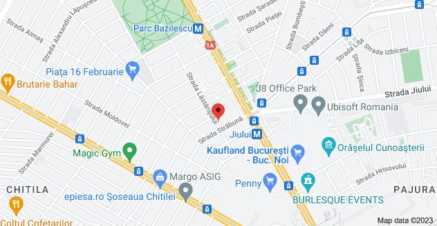 Map of Strada Lăstărișului 14, București